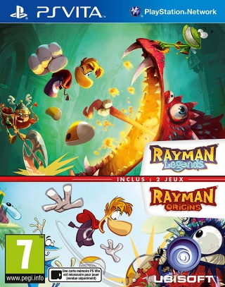 Rayman Origins + Rayman Legends Double Pack