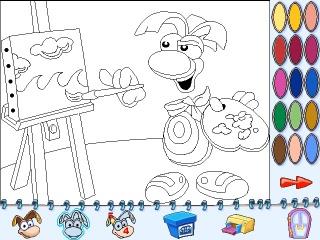 L'atelier de dessin — RayWiki, le wiki Rayman