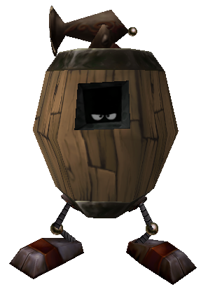 Barrel Pirate