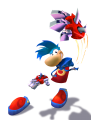 Rayman 3 Heavy Metal Fist Artwork 1 Alternate.png