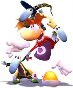 Rayman and some Teensies. I'm a Teensie too. A robotic one. Though not in real life, obviously.