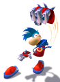 Rayman 3 Heavy Metal Fist Artwork 1.png