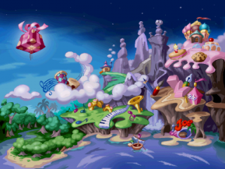 the glade of dreams raywiki the rayman wiki