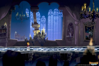 Dracula's castle was an environment once planned for inclusion in Rayman Legends.